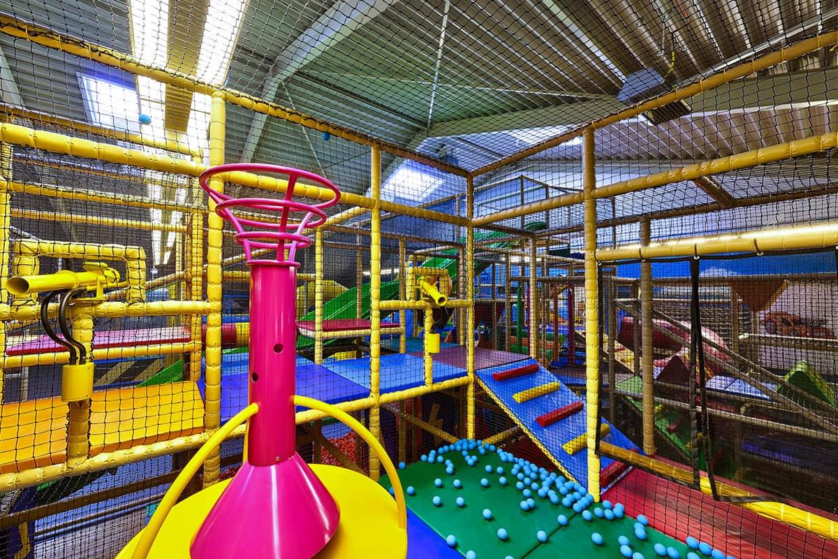 Geräte Indoorspielplatz Tobebox Contigo