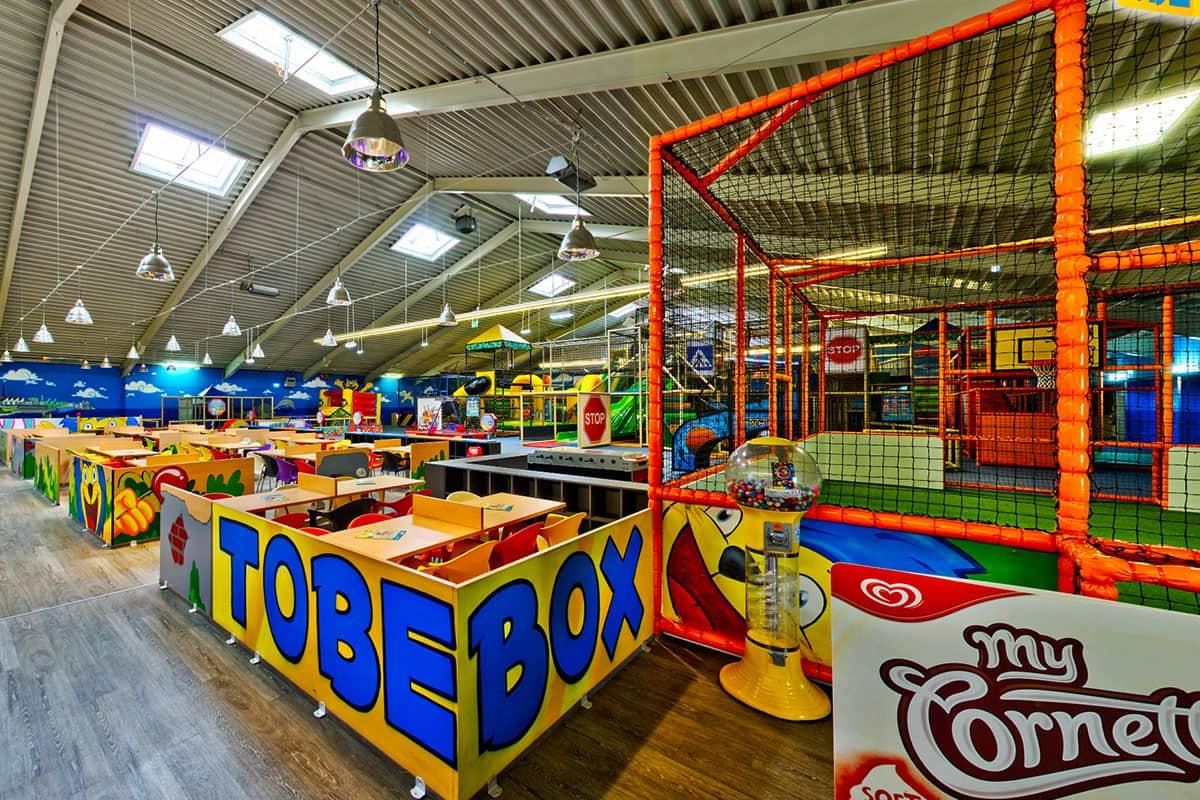 Tobebox Oberhausen Innenansicht