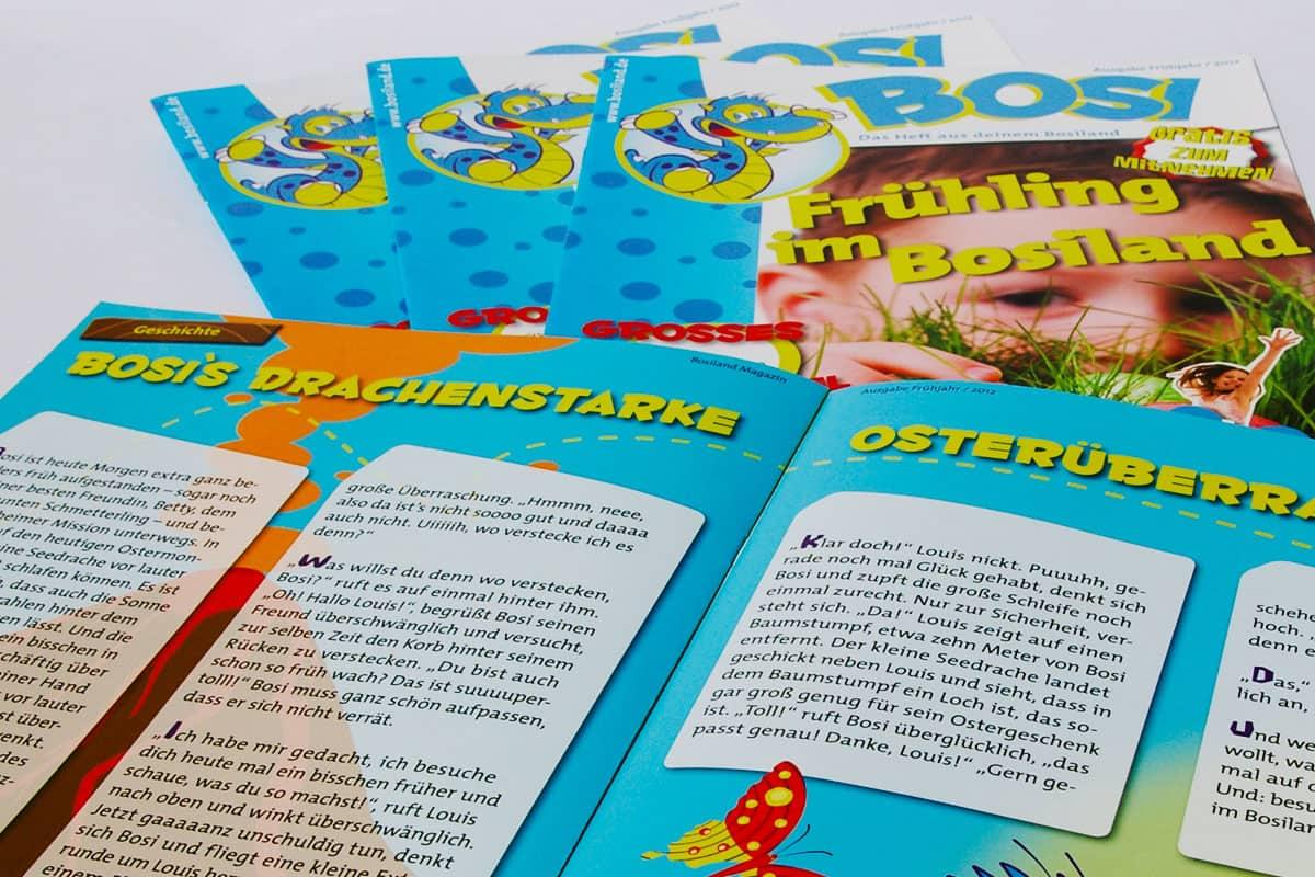 Contigo Kindermagazin Bosiland