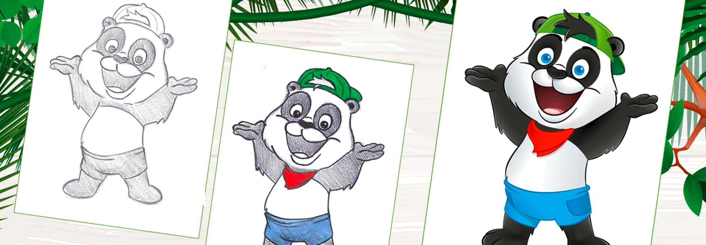 Panda-Logo-Indoorspielplatz