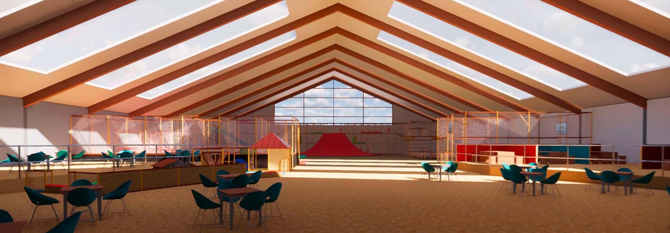 Indoorspielplatz-Planung-Halle