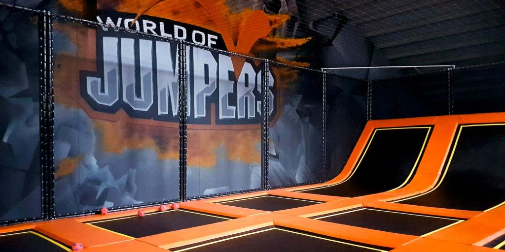World of Jumpers Branding- Contigo Indoortainment