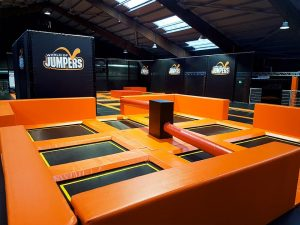 World of Jumpers Jump Parcours - Contigo Indoortainment