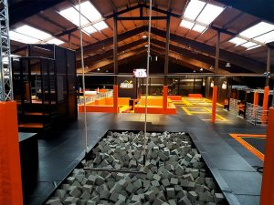 World of Jumpers Foam Pit - Contigo Indoortainment