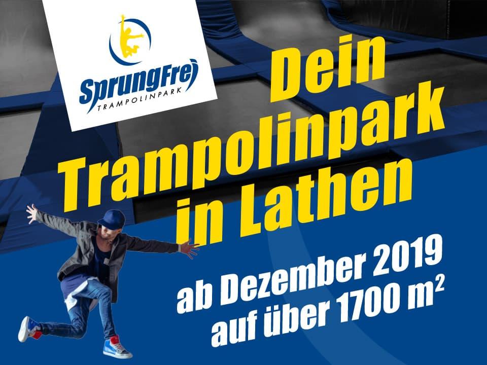 Sprungfrei Trampolinpark in Lathen - Contigo Indoortainment