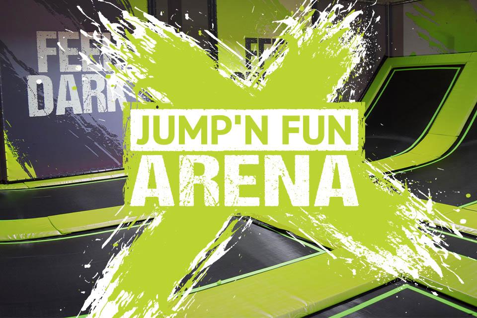 Jump N Fun Arena Indoorspielplatz Limburg Trampolinpark Contigo Indoortainment