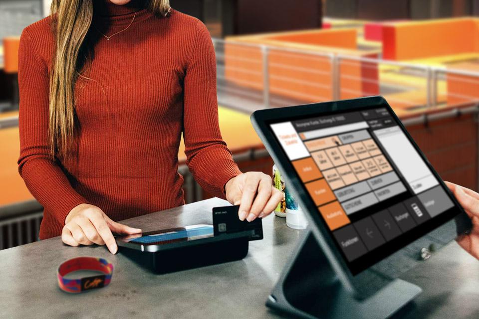 kassensystem mit RFID cash system POS Contigo Indoortainment
