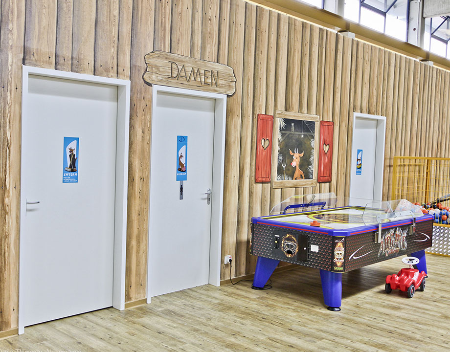 Indoorspielplatz Jux und Tollerei München Contigo Indoortainment