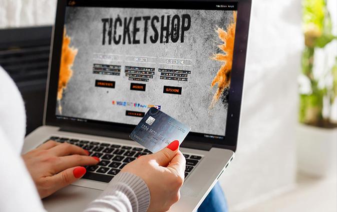 Kasse Onlinebuchung Ticketshop Booking-Tool Buchungssystem