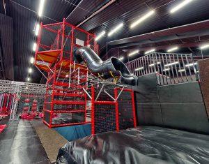 Trampolinpark Indoor Trampolinhalle Ausstattung Geräte Hersteller Contigo Indoortainment
