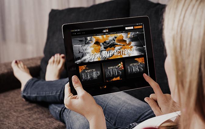 Online-Marketing Indoorspielplatz
