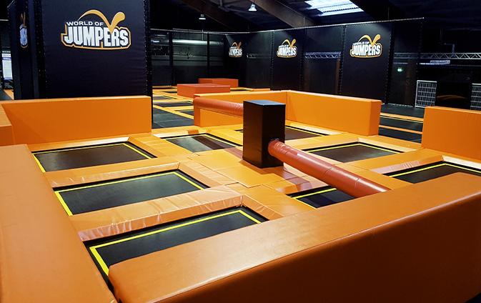 Contigo Indoortainment Trampolinpark Hersteller Ausstatter Geraete